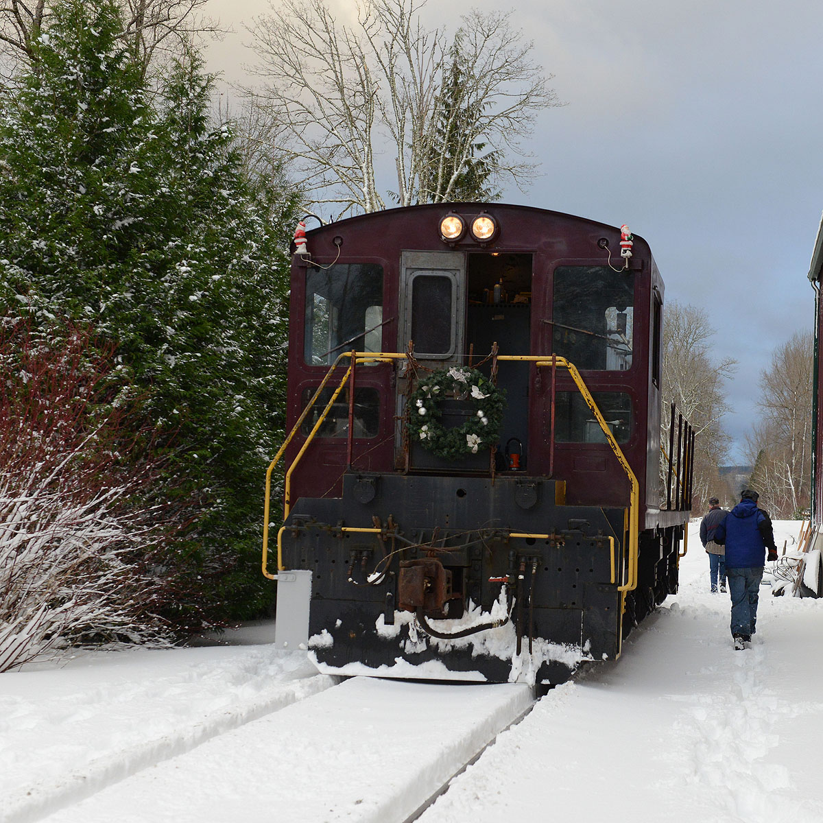 Locomotive during Santa Train.croppedresized