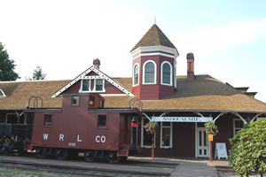 Snoqualmie Depot 8 Oct 08