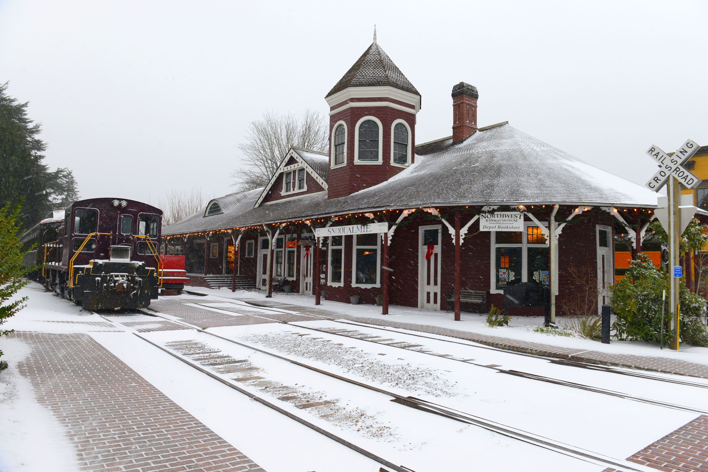 Snoqualmie Depot in Snowsmall